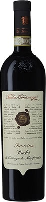 Invictus Ruchè di Castagnole Monferrato Rött vin Italien