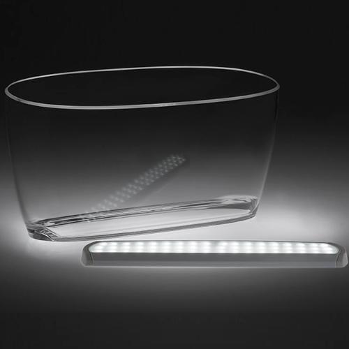 Vinkylare med LED-belysning 5 flaskor