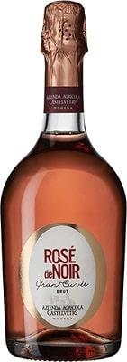 Rosé de Noir Grand Cuveé Spumante Brut Italien, Mousserande vin, Rosé