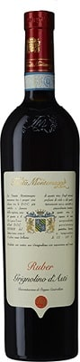Ruber, Grignolino d´Asti D.O.C., Från Italien, Rött vin