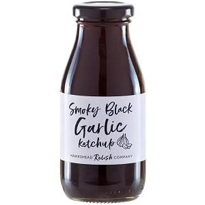 Smoky Black Garlic Ketchup