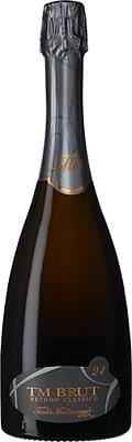 TM Brut 24, Metodo Classico Vino Spumante Di Qualitá, mousserande vin, torrt vin från Italien