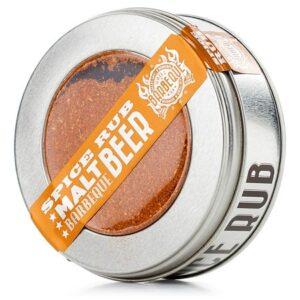 Spice rub malt beer